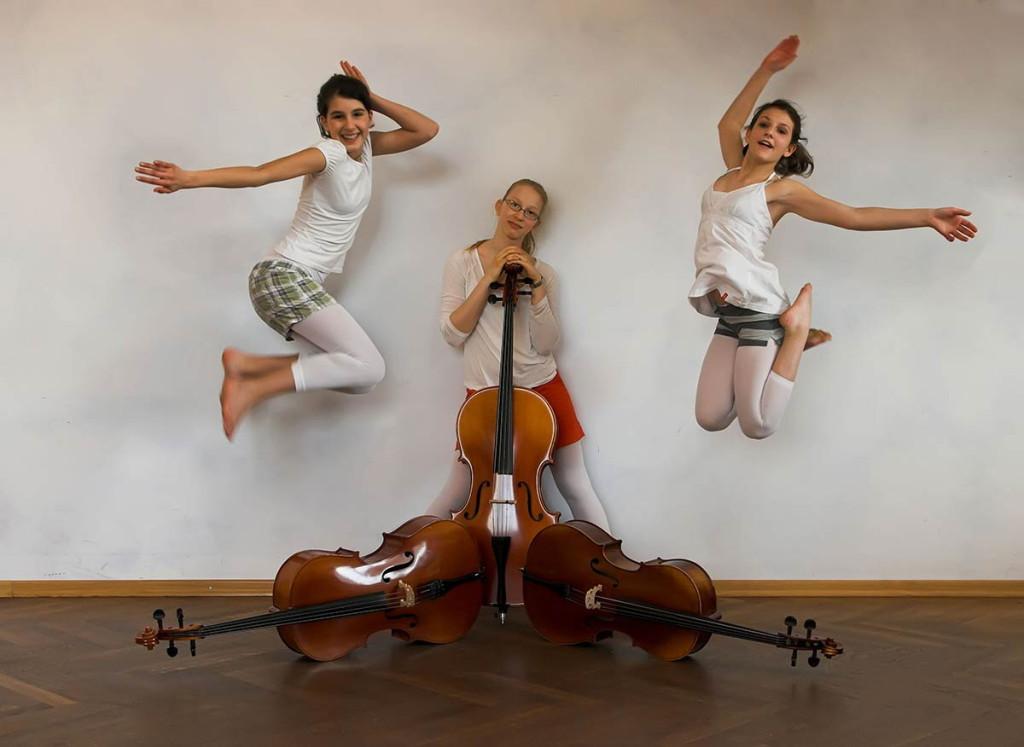 Cello und Tanz